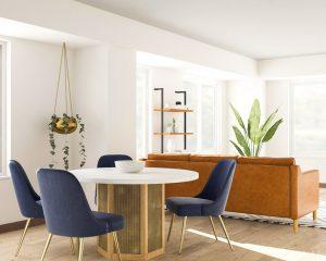 chất liệu gỗ trong phong cách thiết kế