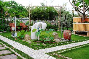 Thiết kế sân vườn ngoại thất