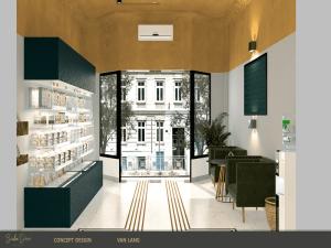 Thiết kế showroom trưng bày độc đáo