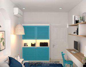 Thiết kế tủ âm tường