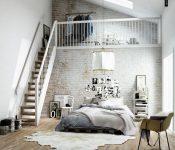 Lựa chọn cầu thang gác lửng cho nhà nhỏ