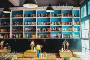 Kh6ng gian yên tĩnh, thư giãn cùng tách cafe thơm nồng cùng những quyển sách yêu thích là điều mà nhiều người tìm kiếm.