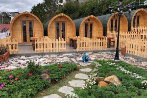 Mô hình bungalow phù hợp với những nhóm khách nhỏ