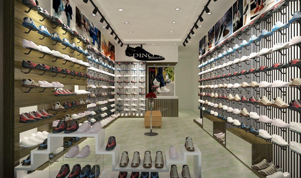 showroom giày đẹp