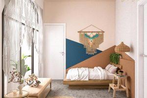 Thiết kế homestay trở nên độc đáo hơn nhờ vào các phụ kiện trang trí bắt mắt.