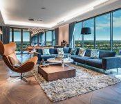 Thiết kế nội thất nhà đẹp, độc, lạ mang tên Penthouse