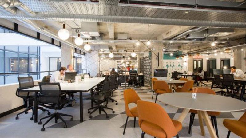 mô hình co - working space