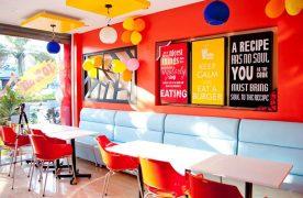 Mô hình nhà hàng Fastfood với tính chất nhanh, gọn từ cách vận hành cho đến menu món ăn.