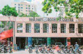 Mặt tiền quán cafe Nhã Nam Books N' Coffee