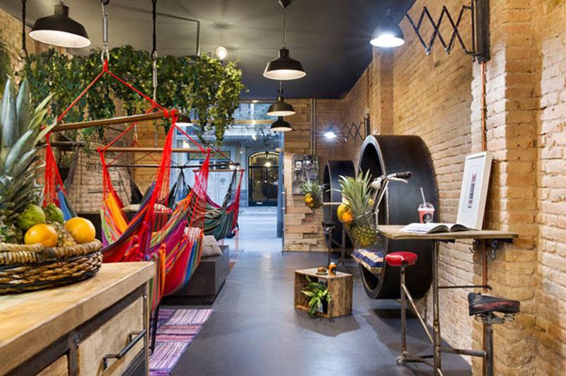 quán cafe võng