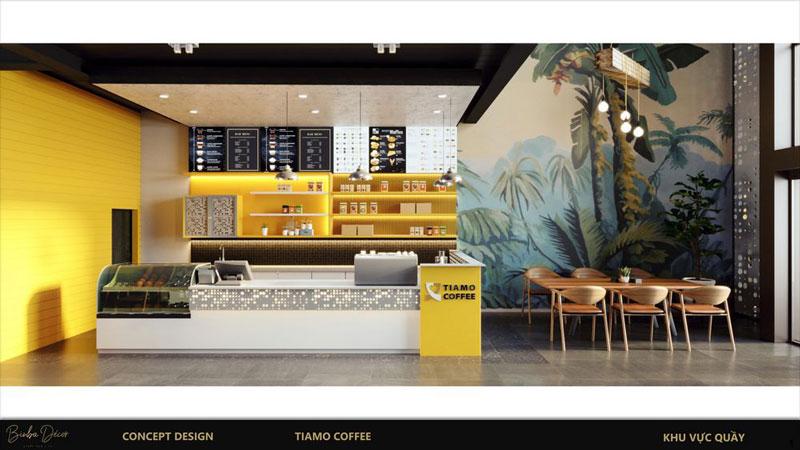 Cách thu hút khách hàng quán cafe thiết kế công năng