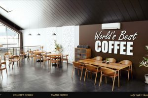 Thiết kế quán cafe đẹp, ấn tượng là một trong những cách thu hút khách hàng cho quán cafe của bạn đấy!