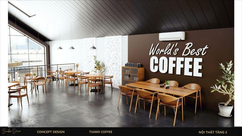 Cách thu hút khách hàng quán cafe thiết kế đẹp