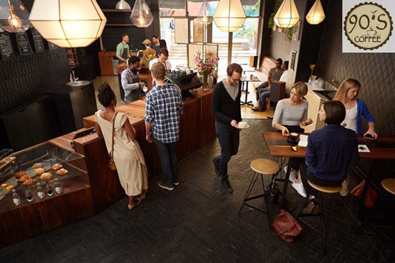 kinh doanh quán cafe đông khách