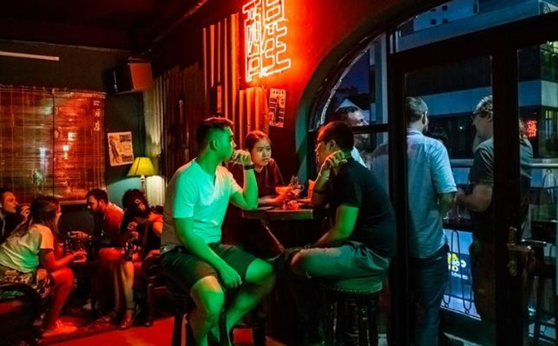 mô hình bar lounge