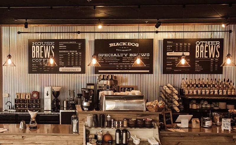 Ý tưởng mở quán cà phê tiêu chí menu
