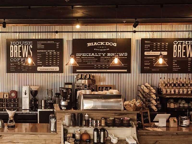 chiến lược kinh doanh cafe menu