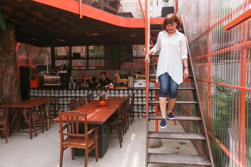 quán cafe gác lửng 1