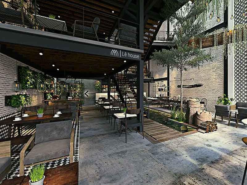 quán cafe gác lửng 4