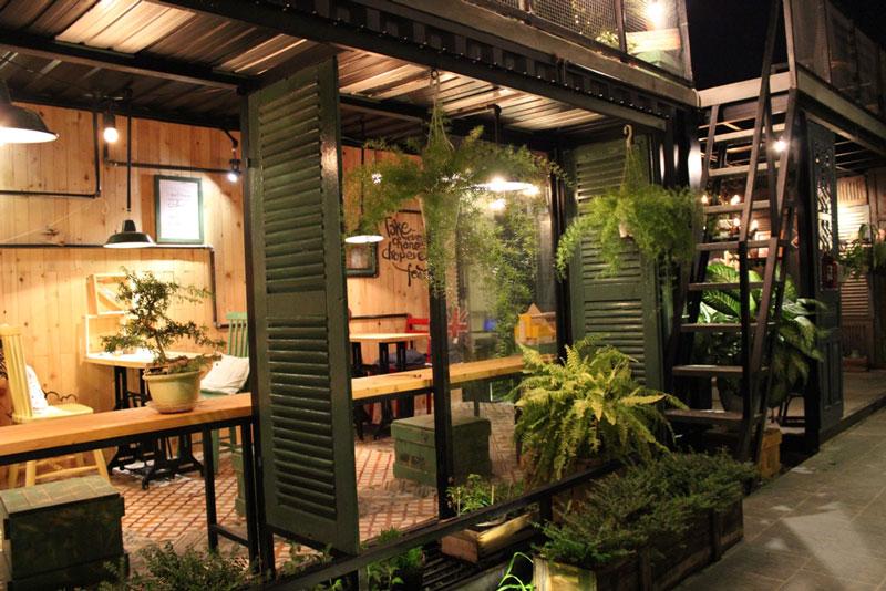 quán cafe gác lửng 5