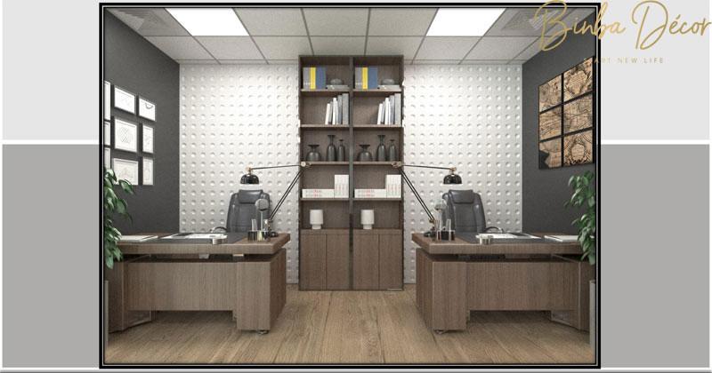 set up văn phòng làm việc nhân viên 2
