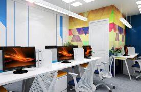 Ánh sáng là yếu tố quan trọng với bất cứ không gian nội thất. Đặc biệt là thiết kế phòng làm việc công sở. Có 2 loại nguồn sáng cho văn phòng là: Ánh sáng tự nhiên và ánh sáng đèn điện.