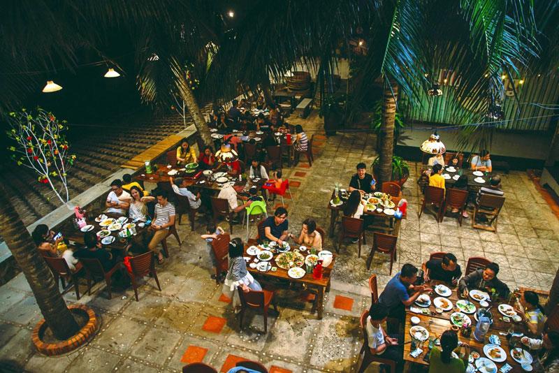 mô hình quán ăn đêm