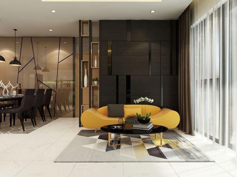 nội thất chung cư hiện đại 1