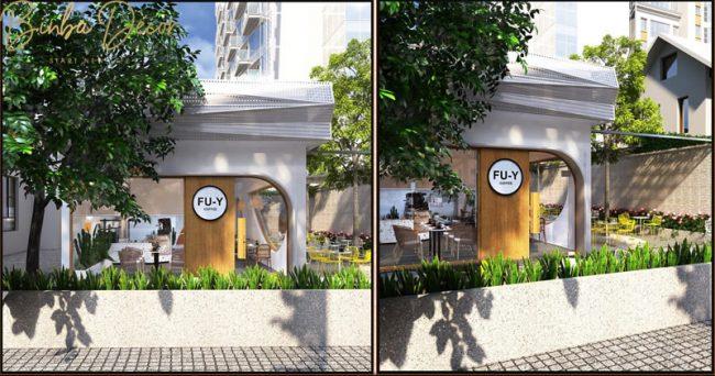 """Lựa chọn mặt bằng theo thế """"Tọa sơn nghênh thủy"""" góp phần làm nên phong thủy quán café tốt."""