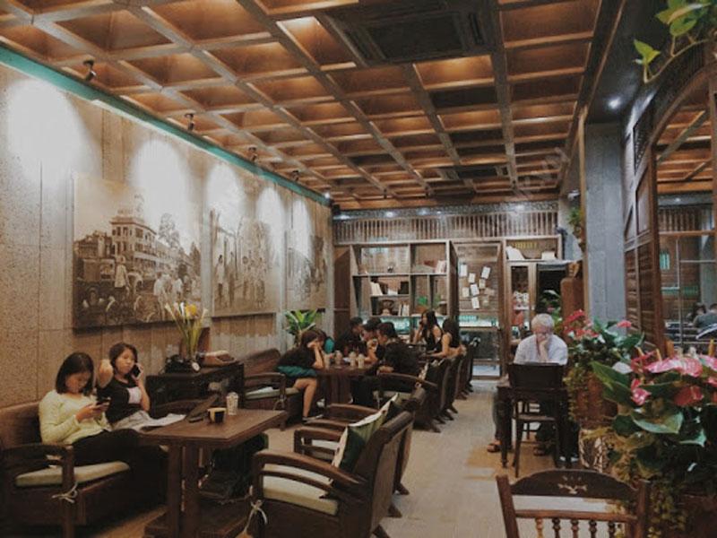 quán cafe phòng trà 2