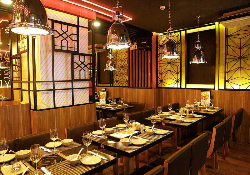 lưu ý thiết kế nội thất nhà hàng 2