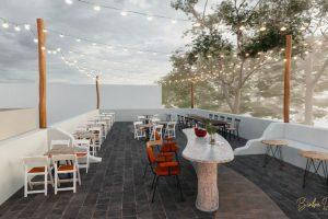 Quán cafe sân thượng sẽ giúp cho mọi người đến thưởng thức ở quán có được cảm giác thoải mái, tự do.