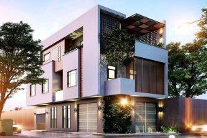 Để phục vụ mục đích kinh doanh và đảm bảo đi lại dễ dàng, nên chọn mảnh đất xây nhà nằm ở vị trí giao thông thuận tiện, có mặt tiền hướng ra đường lớn
