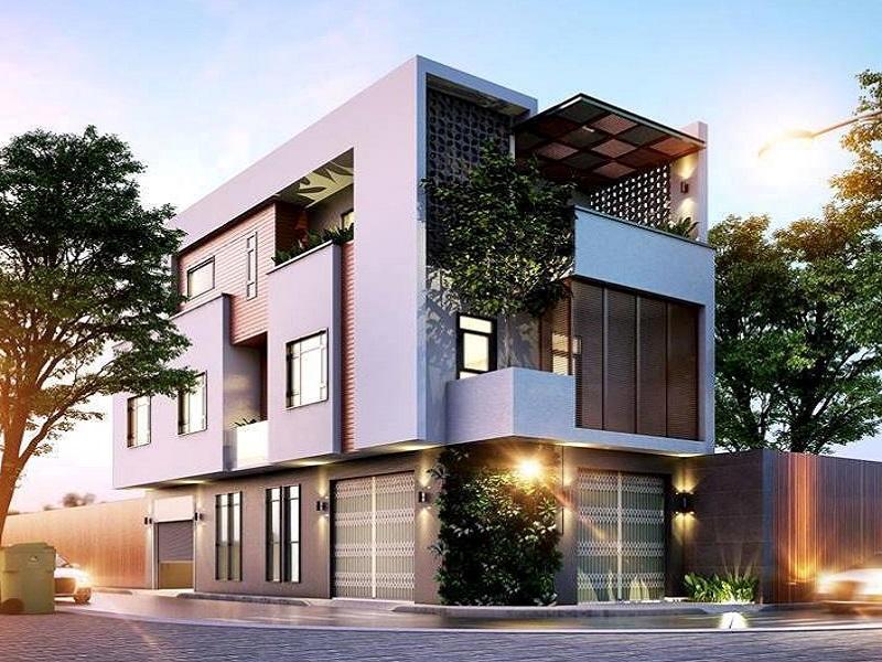 Xây dựng nhà phố kết hợp kinh doanh 1