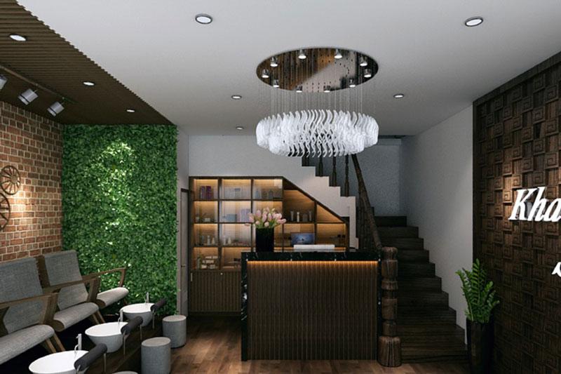 thiết kế nội thất spa 2