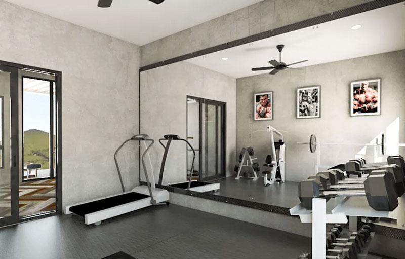 phòng tập thể dục tại nhà 2