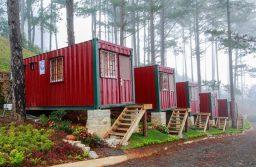 Thiết kế homestay đơn giản bằng container tiết kiệm chi phí đầu tư và nhanh thu hồi vốn